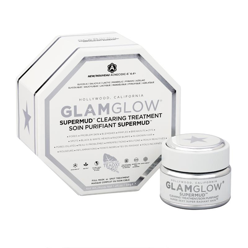Sárpakolások a GlamGlowtól. Super Mud arcmaszk, és a Fiatalító arcmaszk