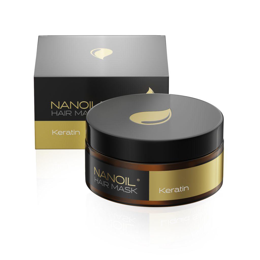 hatékony keratin maszk Nanoil