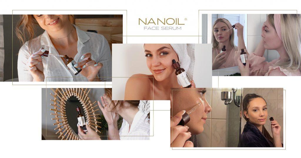 Nanoil a legjobb szérum az arc kipirosodása ellen